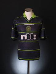 1999-00 Celtic Away Shirt XXL