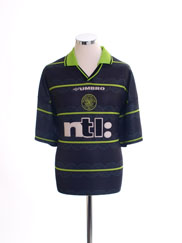 1999-00 Celtic Away Shirt *Mint* L