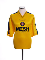 1999-00 Charlton Away Shirt L