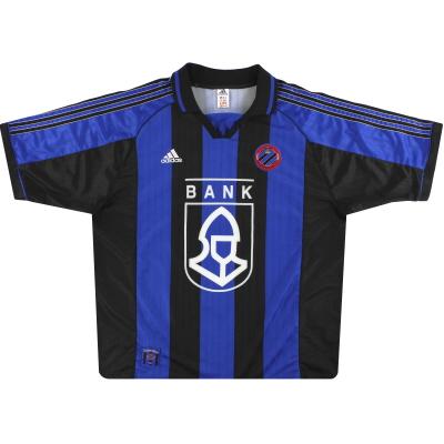 1999-00 Club Brugge adidas Home Shirt *Mint* XXL