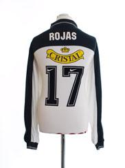 1999-00 Colo-Colo Match Issue Home Shirt Rojas #17 L/S L