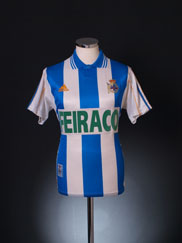 1999-00 Deportivo Home Shirt Y