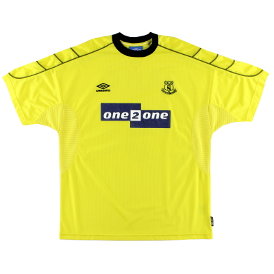 1999-00 Everton Away Shirt XXL