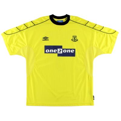 1999-00 Everton Umbro Away Shirt XL