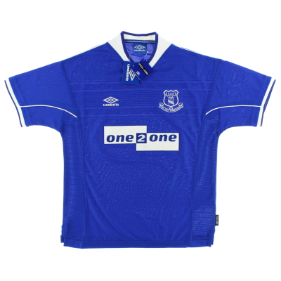 1999-00 Everton Home Shirt *BNIB*