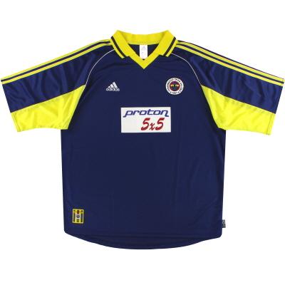 1999-00 Fenerbahce adidas Away Shirt XXL