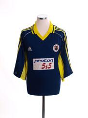 1999-00 Fenerbahce Away Shirt XXL
