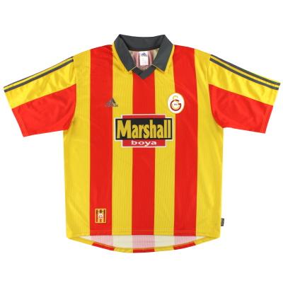 1999-00 Galatasaray adidas Home Shirt L