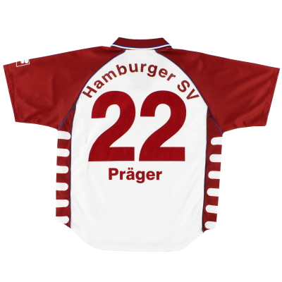 1999-00 Hamburg Home Shirt Prager #22 S