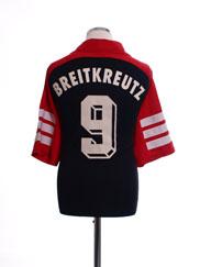 1999-00 Hansa Rostock Away Shirt Breitkreutz #9 XL
