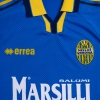 1999-00 Hellas Verona Match Issue Home Shirt L/S #3 L