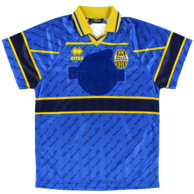 1999-00 Hellas Verona Match Issue Third Shirt #16 S