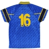 1999-00 Hellas Verona Match Issue Third Shirt #16 S