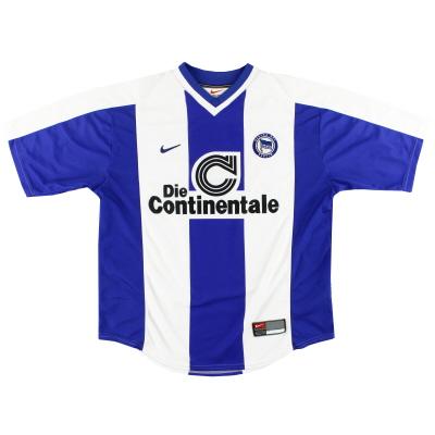 1999-00 Hertha Berlin Nike Home Shirt XL
