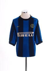 1999-00 Inter Milan Home Shirt M