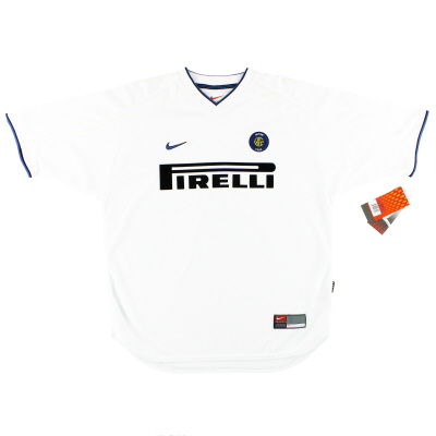 1999-00 Inter Milan Nike Away Shirt *w/tags* L