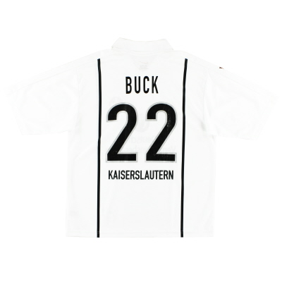 1999-00 Kaiserslautern Away Shirt Buck #22 L