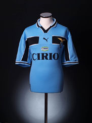 1999-00 Lazio Centenary Home Shirt XL