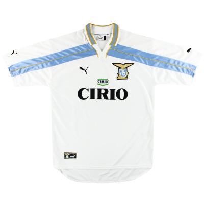 1999-00 Lazio Puma Centenary Home Shirt XL