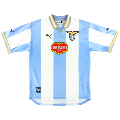 1999-00 Lazio Puma European Home Shirt L
