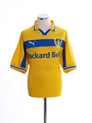 1999-00 Leeds Third Shirt *Mint* L