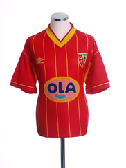 1999-00 Lens Home Shirt XL