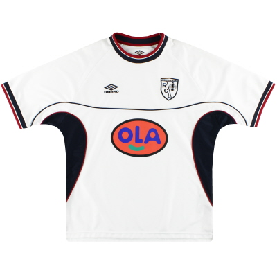 1999-00 Lens Umbro Away Shirt *Mint* XL