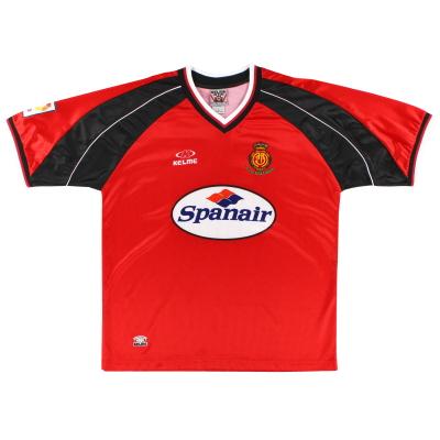 1999-00 Mallorca Home Shirt L