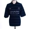 1999-00 Manchester United Away Shirt Beckham #7 L