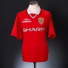 1999-00 Manchester United Champions League Winners Shirt Stam #6 L.Boys