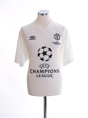 1999-00 Manchester United CL Winners Training Shirt M
