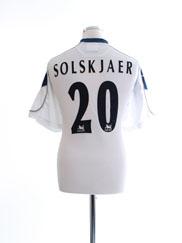 1999-00 Manchester United Third Shirt Solskjaer #20 L
