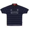 1999-00 Manchester United Umbro Away Shirt Stam #6 L