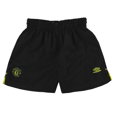 1999-00 Manchester United Umbro Goalkeeper Shorts Y