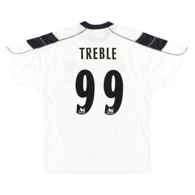 1999-00 Manchester United Umbro Third Shirt Treble #99 M