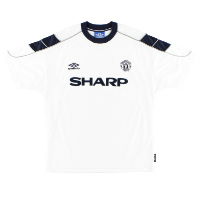 1999-00 Manchester United Umbro Third Shirt *Mint* L