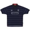 1999-00 Manchester United Umbro Away Shirt Beckham #7 XL