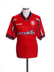 1999-00 Middlesbrough Home Shirt XL