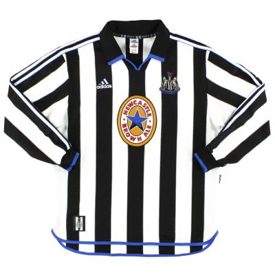 1999-00 Newcastle adidas Home Shirt L/S XL