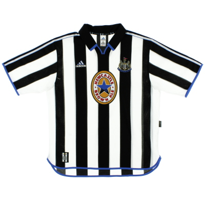 1999-00 Newcastle adidas Home Shirt L