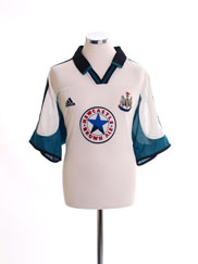 1999-00 Newcastle Away Shirt *Mint* XL