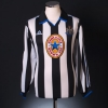 1999-00 Newcastle Home Shirt Ferguson #10 L/S L