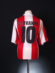 1999-00 Olympiakos Home Shirt Giovanni #10 *Mint* XL