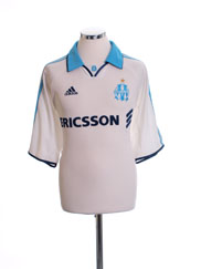 1999-00 Olympique Marseille Home Shirt *BNWT* L