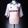 1999-00 Olympique Marseille Home Shirt Morel #9 S