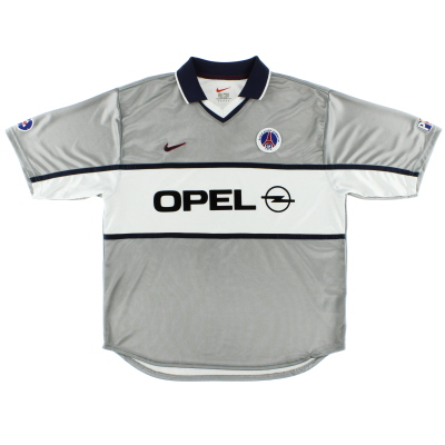 1999-00 Paris Saint-Germain Player Issue Away Shirt XL