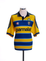 1999-00 Parma Home Shirt L