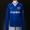1999-00 Peterborough Match Issue Home Shirt Scott #4 L/S XL