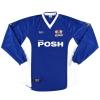 1999-00 Peterborough Match Issue Home Shirt Hann #16 L/S XL