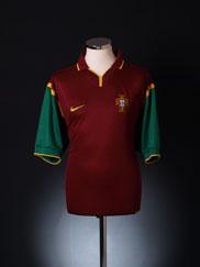 1999-00 Portugal Home Shirt *Mint* XL